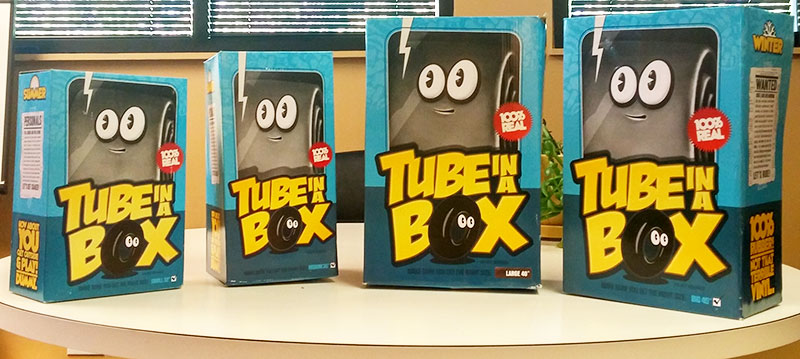 tube in a box